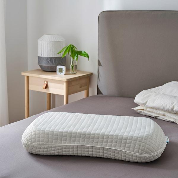 KLUBBSPORRE Oreiller ergo, couch. multiposition, 43x65 cm