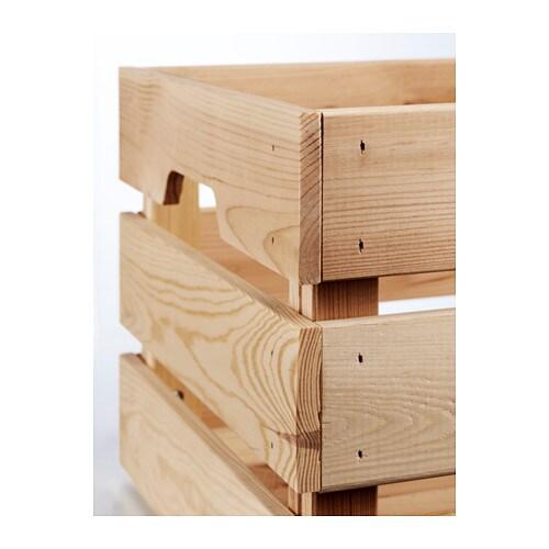 Knagglig Boîte Ikea