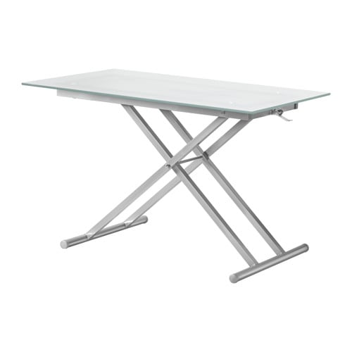 Knicksand table basse ikea for Table de salon transparente