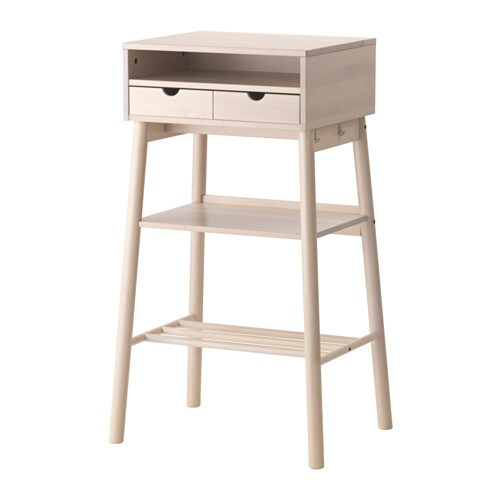 Knotten bureau debout ikea for Mobile porta pc ikea