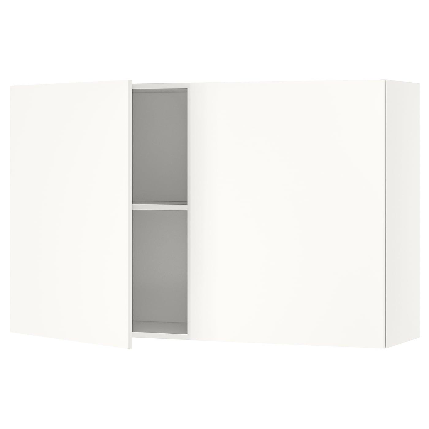 KNOXHULT Élément mural avec portes - blanc 14x14 cm