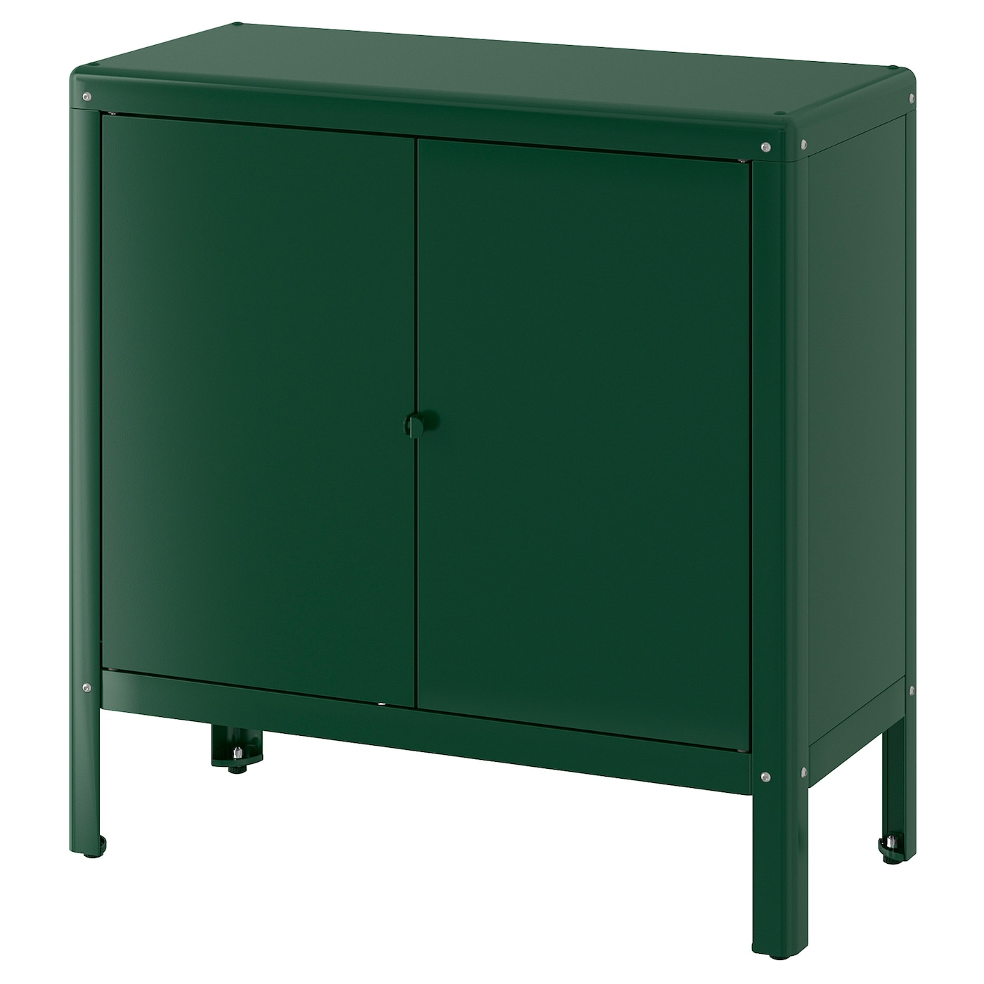 KOLBJÖRN Élément rangement int/extérieur - vert 10x10 cm