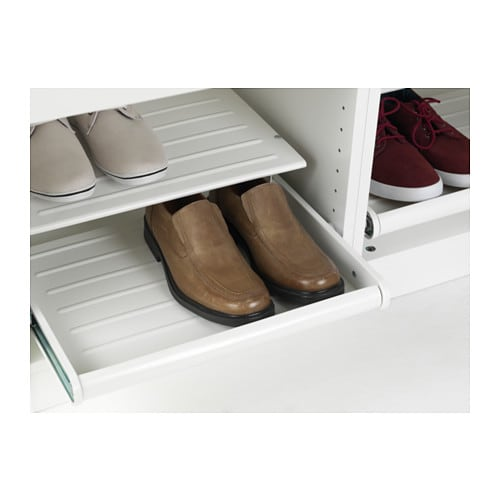 komplement tag re chaussures coulissante blanc 50x58 cm ikea. Black Bedroom Furniture Sets. Home Design Ideas