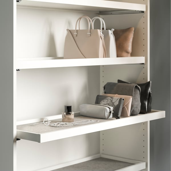 Komplement Tapis De Tiroir Gris Clair 90x30 Cm Ikea