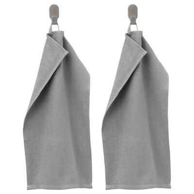 KORNAN essuie-main gris 320 g/m² 50 cm 30 cm 0.15 m² 2 pièces