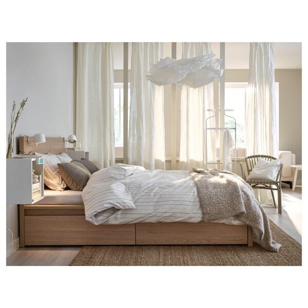 KRUSNING Abat-jour suspension, blanc, 85 cm