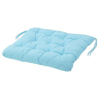 KUDDARNA Coussin de chaise, extérieur, bleu clair, 50x50 cm