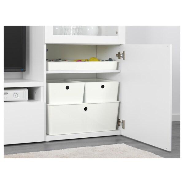 KUGGIS Rangement 8 compartiments, blanc