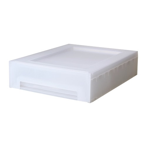 Kupol rangement coulissant 27x35x8 cm ikea - Rangement papier ikea ...