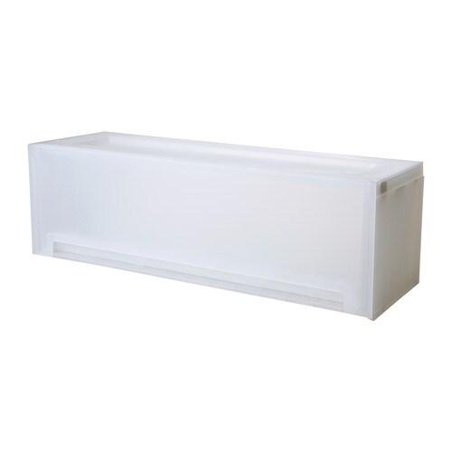 Kupol rangement coulissant 53x18x16 cm ikea - Ikea rangement papier ...