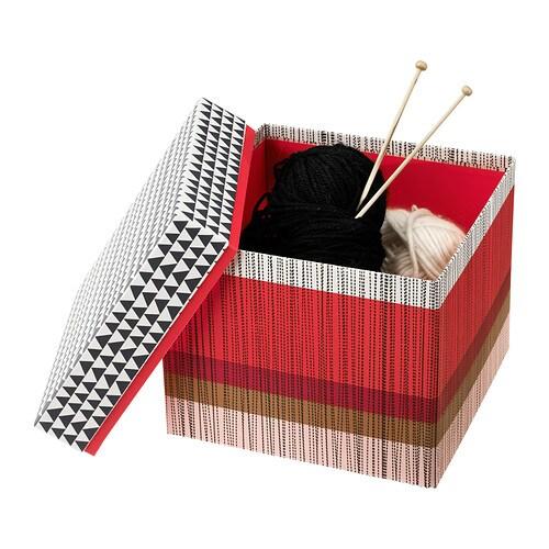 KVITTRA Boîte avec couvercle IKEA
