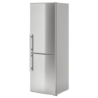 KYLIG Réfrigérateur/congélateur A++, No Frost acier inoxydable, 220/91 l