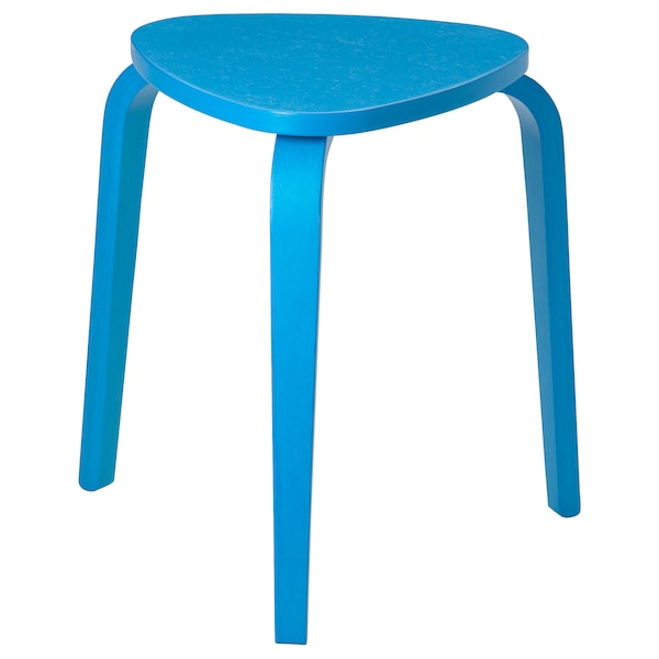 KYRRE Tabouret, bleu