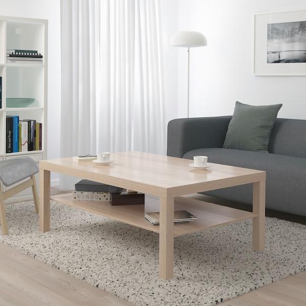 LACK Table basse, effet chêne blanchi, 118x78 cm IKEA