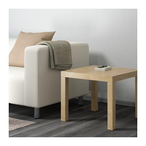 lack table d'appoint - brun noir - ikea
