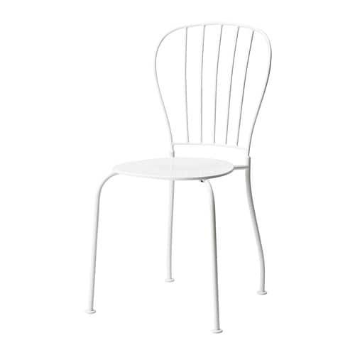 l ck chaise ext rieur blanc ikea. Black Bedroom Furniture Sets. Home Design Ideas