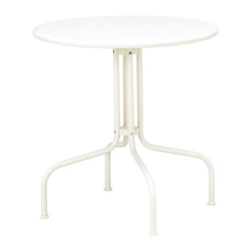 L ck table blanc ikea - Ikea pieds reglables ...