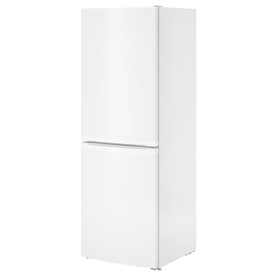 LAGAN Réfrigérateur/congélateur A+, blanc, 194/109 l