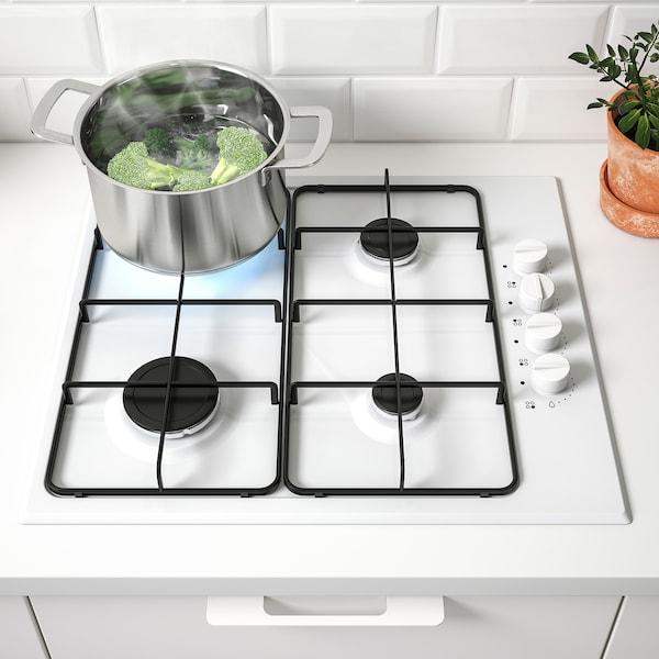 LAGAN Table de cuisson à gaz, blanc