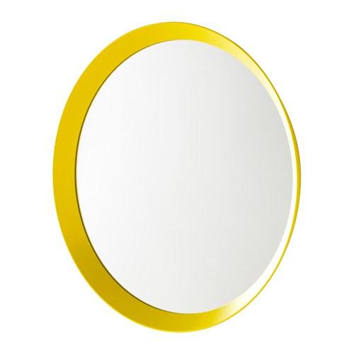 langesund miroir jaune ikea