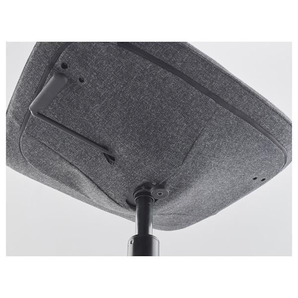 LÅNGFJÄLL Chaise conférence, Gunnared gris foncé/noir