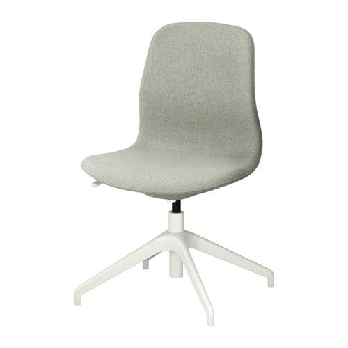 l ngfj ll chaise pivotante gunnared vert clair blanc ikea. Black Bedroom Furniture Sets. Home Design Ideas