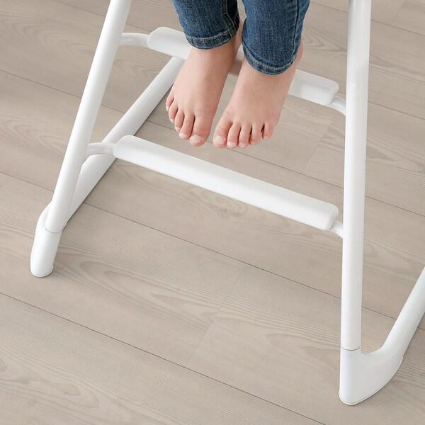 LANGUR Chaise haute/enfant, blanc