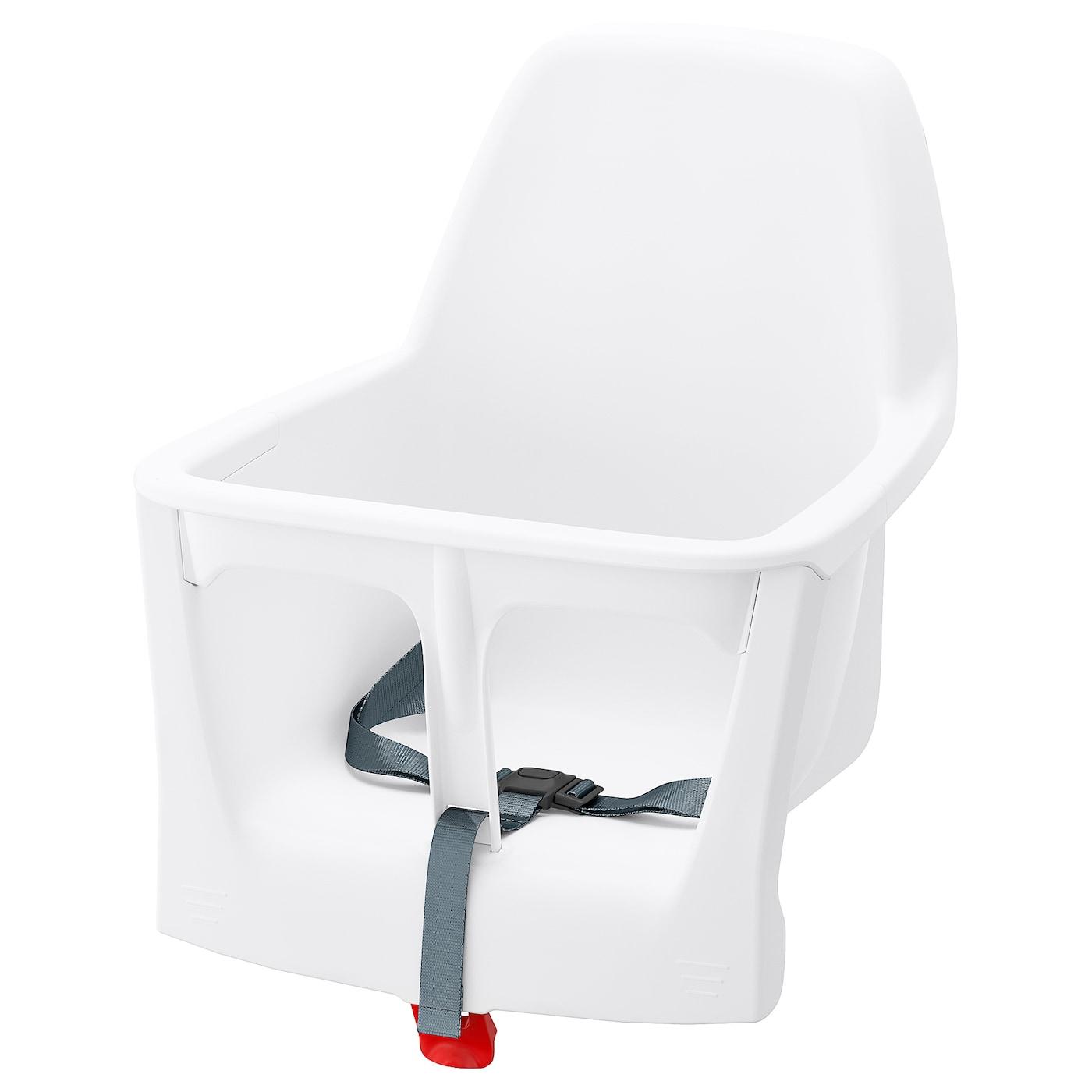 LANGUR Coque d'assise pour chaise haute, blanc IKEA