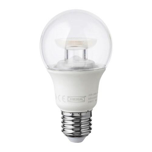ledare ampoule led e27 600 lumen ikea. Black Bedroom Furniture Sets. Home Design Ideas
