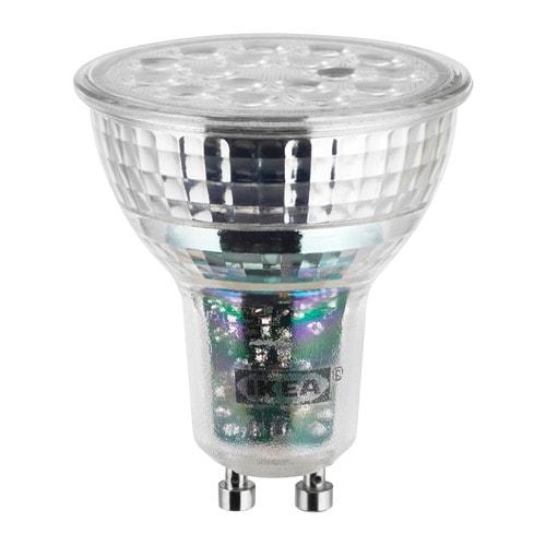 ledare ampoule led gu10 600 lumen ikea. Black Bedroom Furniture Sets. Home Design Ideas