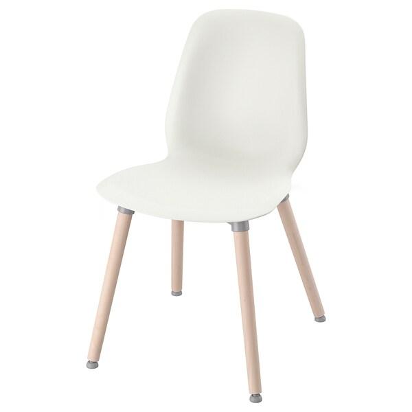 LEIFARNE Chaise, blanc, Ernfrid bouleau IKEA