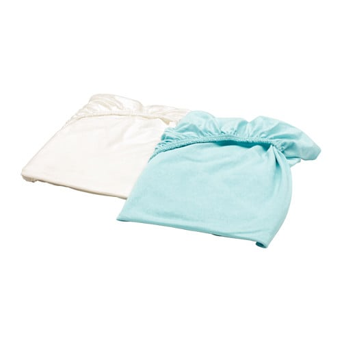 Len drap housse pour lit b b ikea - Drap housse 60x140 pour bebe ...