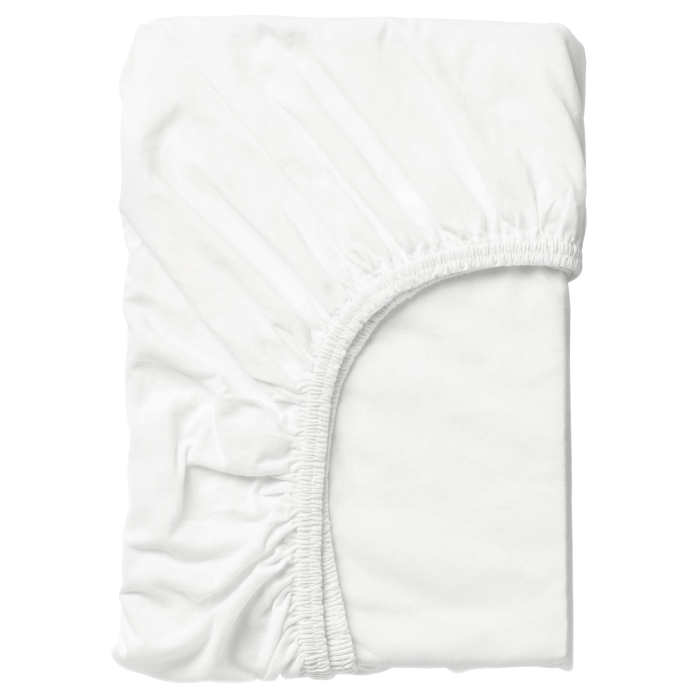 LEN Drap housse - blanc - IKEA