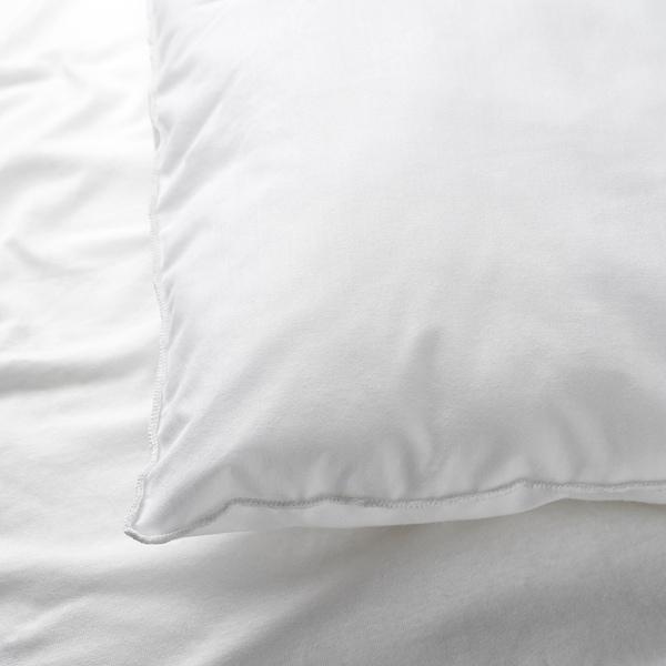 LEN Taie d'oreiller pour lit bébé, blanc, 35x55 cm
