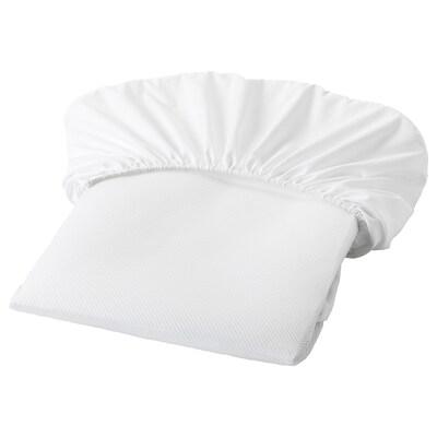 LENAST alèse blanc 120 cm 60 cm