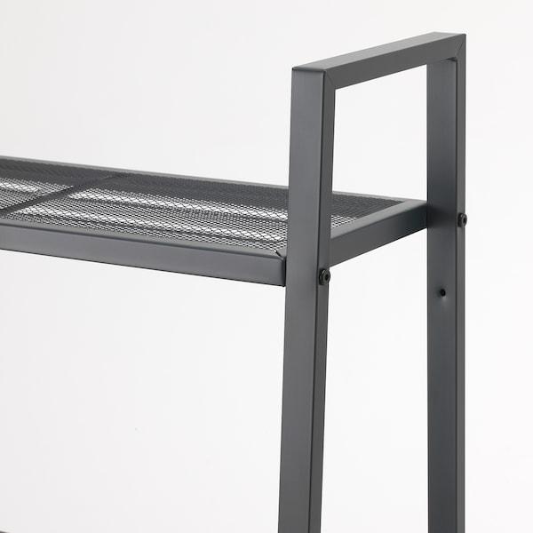 LERBERG Étagère, gris foncé, 60x148 cm