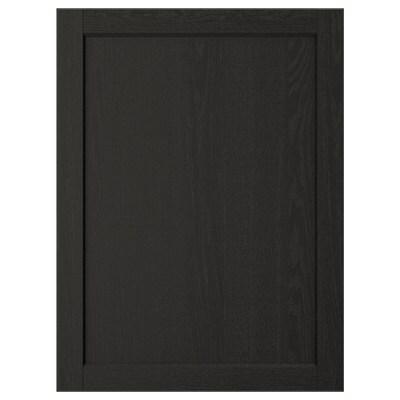LERHYTTAN porte teinté noir 59.7 cm 80.0 cm 60.0 cm 79.7 cm 1.9 cm