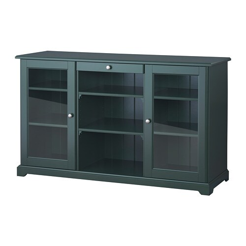 liatorp buffet noir vert olive ikea. Black Bedroom Furniture Sets. Home Design Ideas