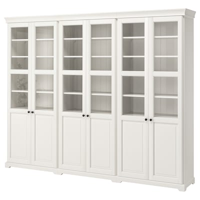 LIATORP Combinaison rangement portes, blanc, 276x214 cm