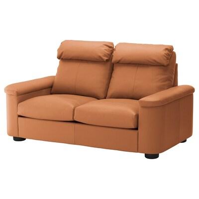 LIDHULT Canapé 2 places, Grann/Bomstad brun doré