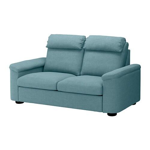 Lidhult Canape 2 Places Gassebol Bleu Gris Ikea