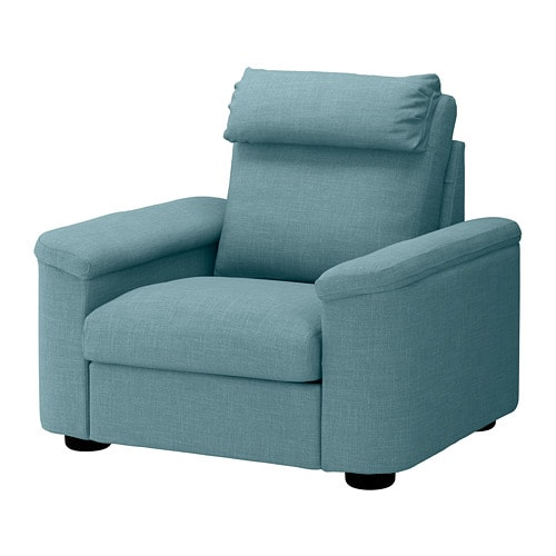 lidhult fauteuil gassebol bleu gris ikea. Black Bedroom Furniture Sets. Home Design Ideas