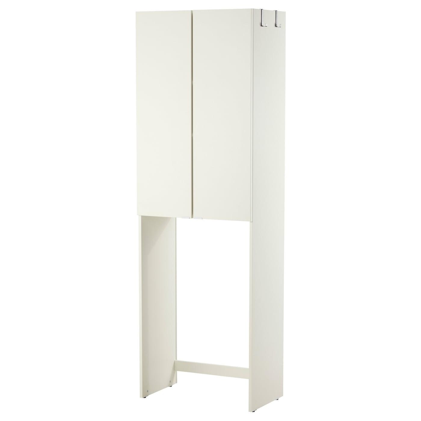 Rangement Machine À Laver lillÅngen meuble pour machine à laver - blanc 64x38x195 cm