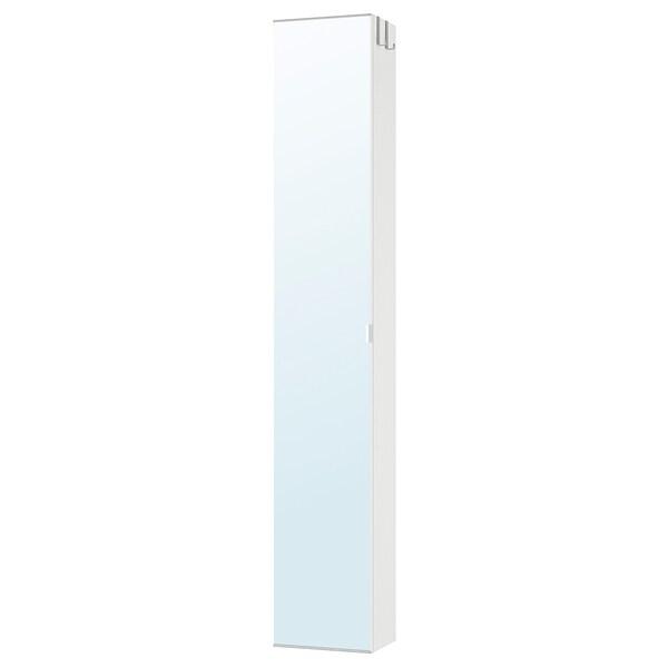 Lillangen Colonne Avec Porte Miroir Blanc 30x21x179 Cm Ikea
