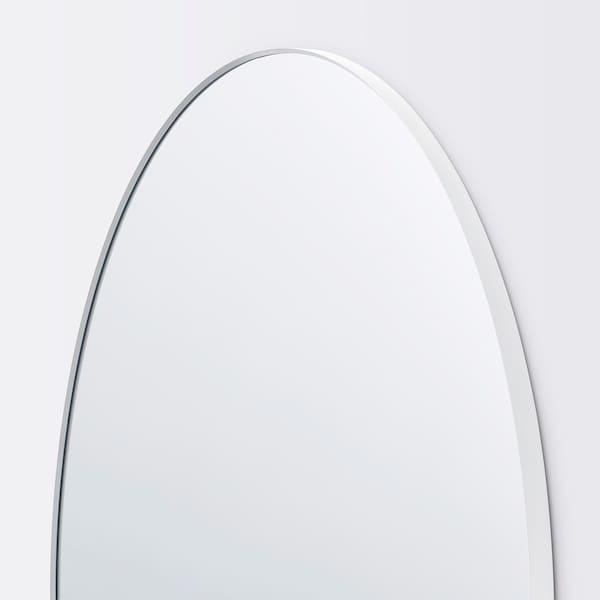 LINDBYN Miroir, blanc, 110 cm