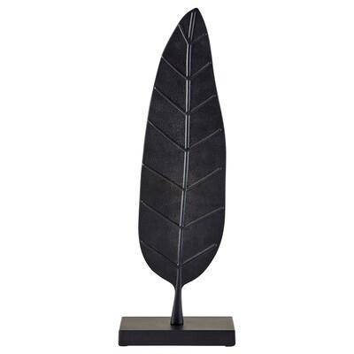 LINDRANDE Décoration, feuille noir, 45 cm