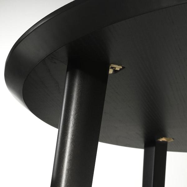 LISABO Table, noir, 105 cm