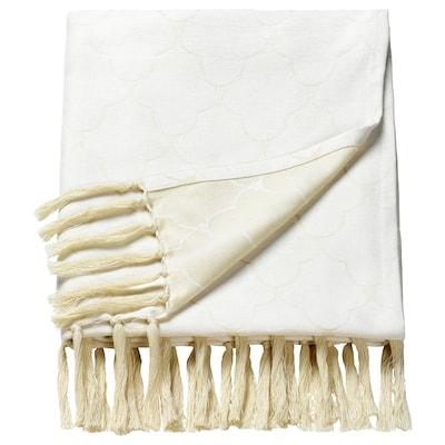 LJUVARE Plaid, beige, 120x180 cm