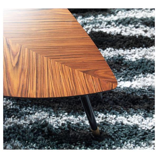 LÖVBACKEN Table basse, brun moyen, 106x55x42 cm