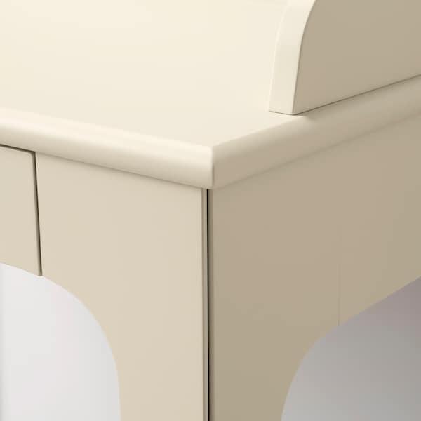 LOMMARP Bureau, beige clair, 90x54 cm